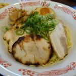 バーミヤン - 料理写真:2種の叉焼の4種種節つけ麺