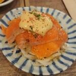 東京MEAT酒場 - ちょい呑みセットのカルパッチョ