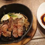 東京MEAT酒場 - ステーキ1680円