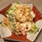 鶏っく - 海老マヨ