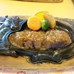 炭焼きレストランさわやか 静岡インター店 - オニオンソース