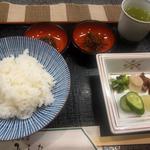 洋食の店 みしな - フライ定食(お茶漬け)