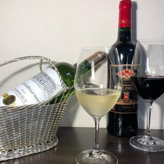 高級ワインをグラス2杯分「カップルワイン」で色々なワインを!