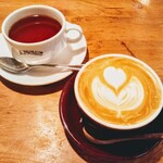 ANGIE - 紅茶とカフェラテ