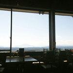 レストラン神の蔵 - 窓からの眺め最高 ♪