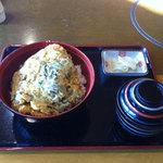 レストラン神の蔵 - 黒豚かつ丼定食 ♪