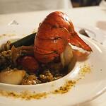 ブルーバイユー・レストラン - オマール海老のシーフードガンボ