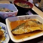 錦糸町小町食堂  - サバ味噌煮
