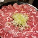 wamodankoshitsuizakayasumibiyachakoru - 牛タンしゃぶしゃぶ