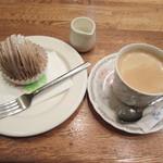 喫茶 グリーン - ケーキセット タイムサービスで500円!