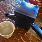 玄蕎麦河童 - トロリとした蕎麦湯