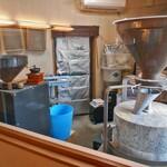 玄蕎麦河童 - 製粉室
