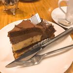 コーヒー ミキ - チョコレートタルト