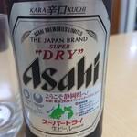 千楽 - 2019年11月 ビール 650円