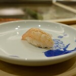 鮨一 - [2019/12]寿司③ 甘えびの握り
