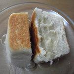 12285081 - お米豆乳クリームパン断面図