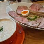 122851046 - ドリームつけ麺(中2玉)チャーシュートッピング