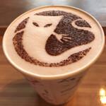 妖怪茶屋 - ホットカフェラテ