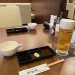 ステーキハウス磐梯 - よし、ビール頼んじゃお
