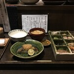 柊草はなれ - はなれ昼御膳をいただきました(2020.1.3)