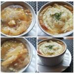 おとなのヒッコリー - 料理写真:◆オニオングラタンスープ◆♪