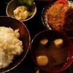 豊蘭亭 - 日替わり定食630円ヒレカツ
