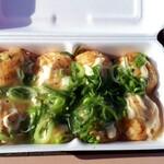 笑たこ - 料理写真:塩ネギマヨ550円