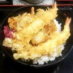 小諸そば  - 天丼:470円
