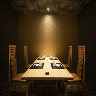 ■和を重んじた上質な完全個室