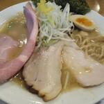 麺屋あした - 醤油白湯麺