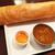 ゴングル - 料理写真:北インド店のマサラドーサ。そつのない美味しさ。 ¥1000 外税、チャイ付き