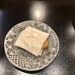 天婦羅 みやしろ - ●カラスミ 餅