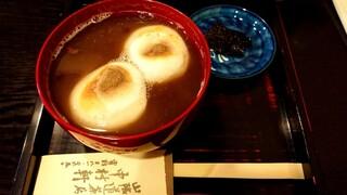 中村軒 - ぜんざい(830円税込)