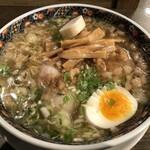 あじさい - 塩拉麺+背脂