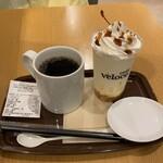 カフェベローチェ - プリンマゼリー&ブレンドコーヒー♪