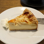 cafe634 - 洋梨のチーズケーキ