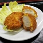 122878995 - 坂田芋のコロッケ300円