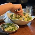 米沢亭 - 料理写真:コッチョリサラダ