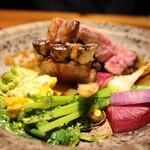 122885564 - 鎌倉野菜のグリル