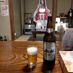 お食事処 龍華 - 瓶ビール~☆