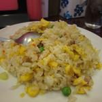12289097 - これ、タンタン麺のセットという「半炒飯」