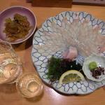 ゆあーず - 日本酒とヒラメ刺身