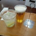 東京愛らんど - 島ハイボールとビール