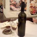 12290271 - 中身はワインじゃなくて水です