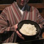 12290607 - 博多駅前エリアのリーズナブル価格の居酒屋『大衆居食家しょうき』で定食ランチ。ご飯の大盛りは無料です。