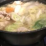 茜どき - コース料理の鍋