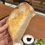 サンジェルマン タンドレス - トーストモーニングセット590円