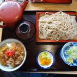 大栗屋 - 料理写真:牛丼セット