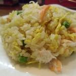 ふうてん - 蟹肉炒飯 具の蟹は地元魚津漁港に水揚げされた地元産