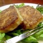 ふうてん - 大根餅(羅葡羹・ローポーカオ) お餅ですのでモッチリ(笑)でも大根が消化を助けて幾つでも(笑)